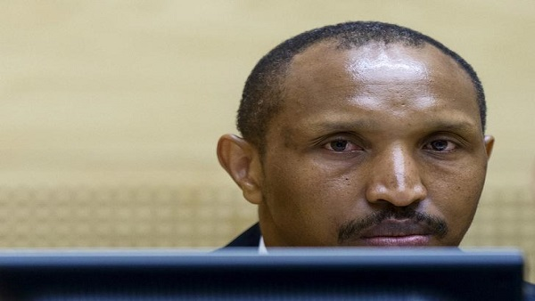 Congolese militia leader Bosco Ntaganda sits in the courtroom of the ICC (International Criminal Court) during the first day of his trial at the Hague in the Netherlands September 2, 2015. REUTERS/Michael Kooren/File Photo - RTX2OTQH