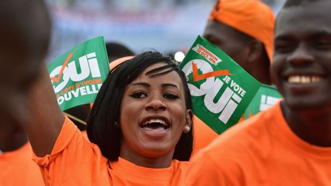 Ouattara's supporters have been vocal in backing the constitutional reform process