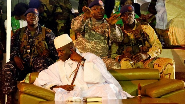 Yahya Jammeh ruled Gambia for 22 years.