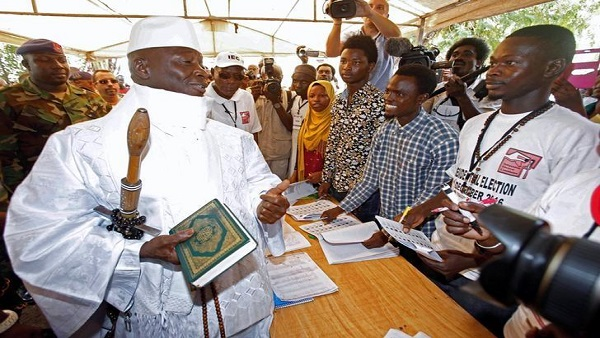 Jammeh to return to Gambia