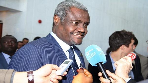 AU Commissioner chair, Moussa Faki Mahamat