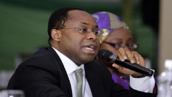 CEO of Nigeria's Sovereign Wealth Fund, Uche Orji addresses the inaugural Nigeria Philanthropy Summit in the capital Abuja, March 18, 2013. REUTERS/Afolabi Sotunde