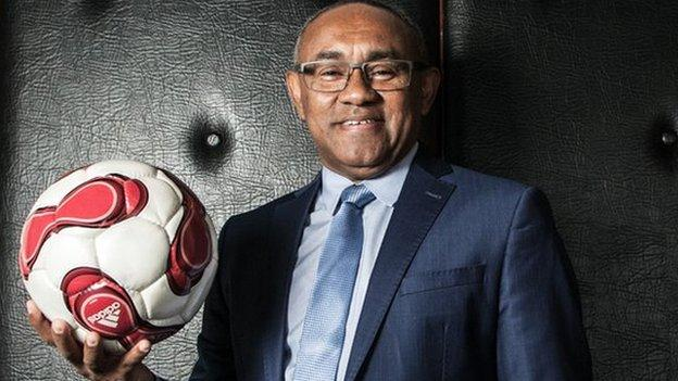 Ahmad is the chief of African football's governing body.