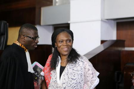 Ivory Coast's former first lady Simone Gbagbo (R). Photo: REUTERS/Joe Penney