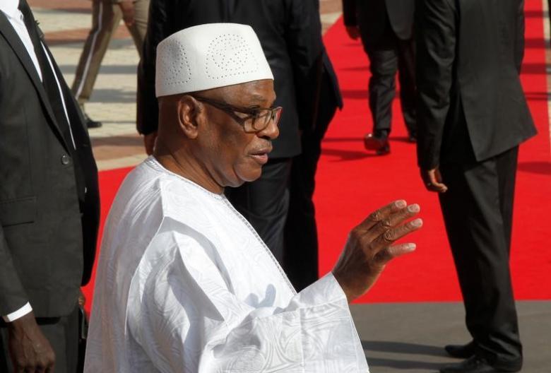 Mali's President Ibrahim Boubacar Keita. REUTERS/Luc Gnago