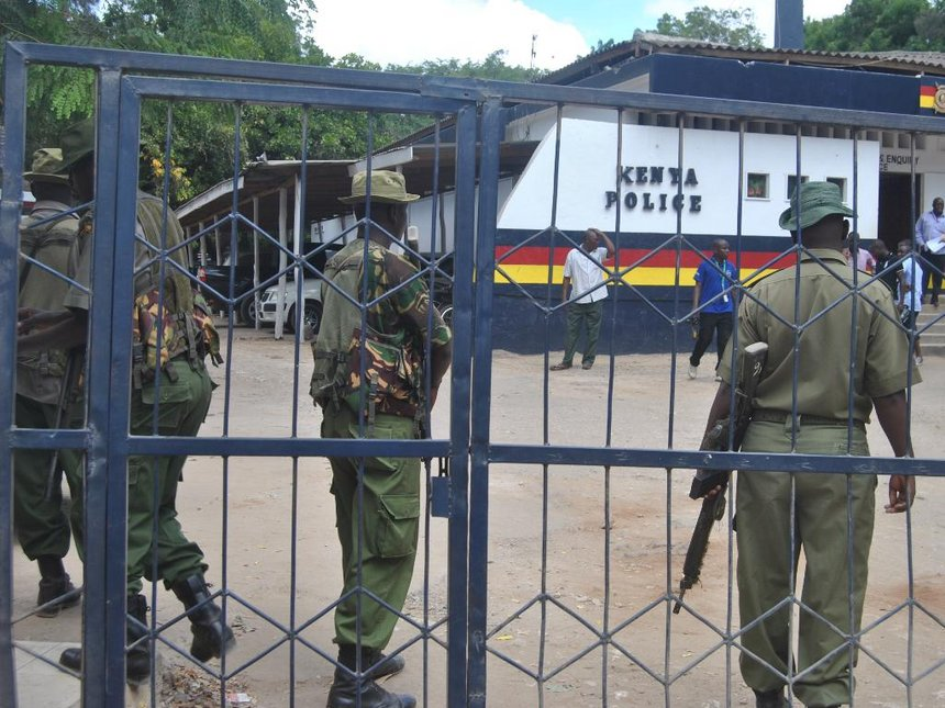 Kenya police officers killed