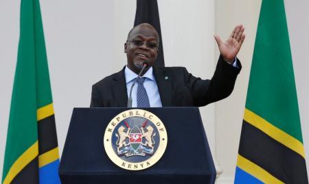 Tanzania's President John Magufuli. Photo: REUTERS