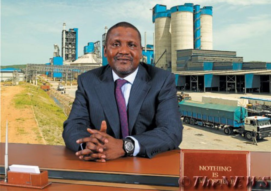 Aliko Dangote on border closure