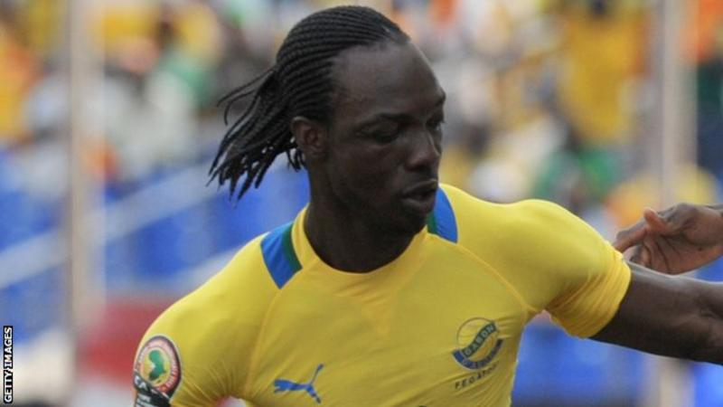 Defender Moise Brou Apanga played 33 times for Gabon including at two Africa Cup of Nations.