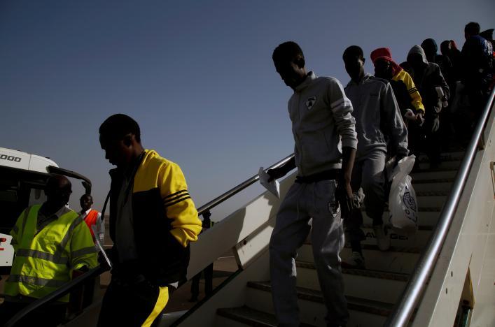 Gambian deportees