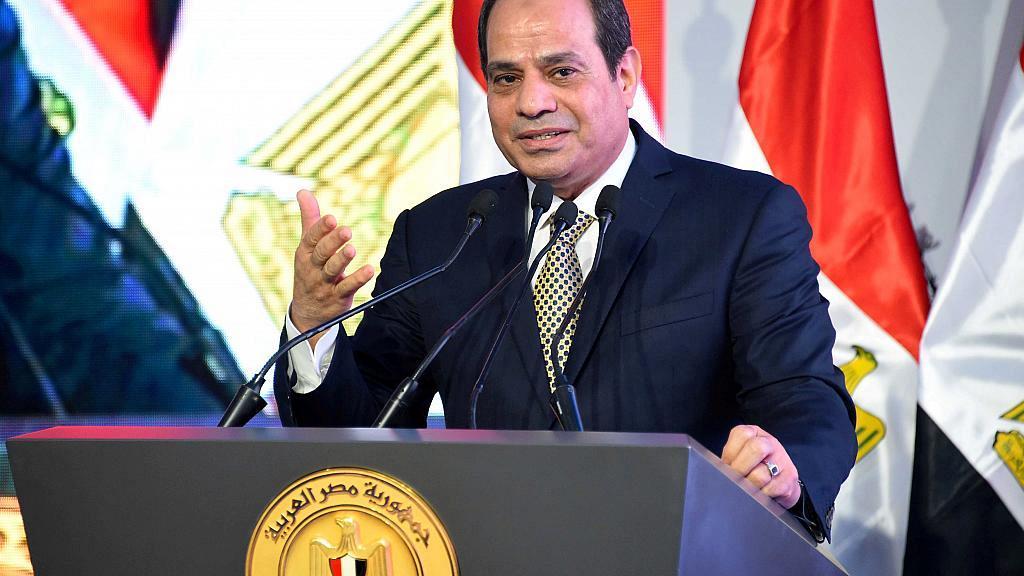 Egypt's President, Abdel-Fattah aL-Sisi