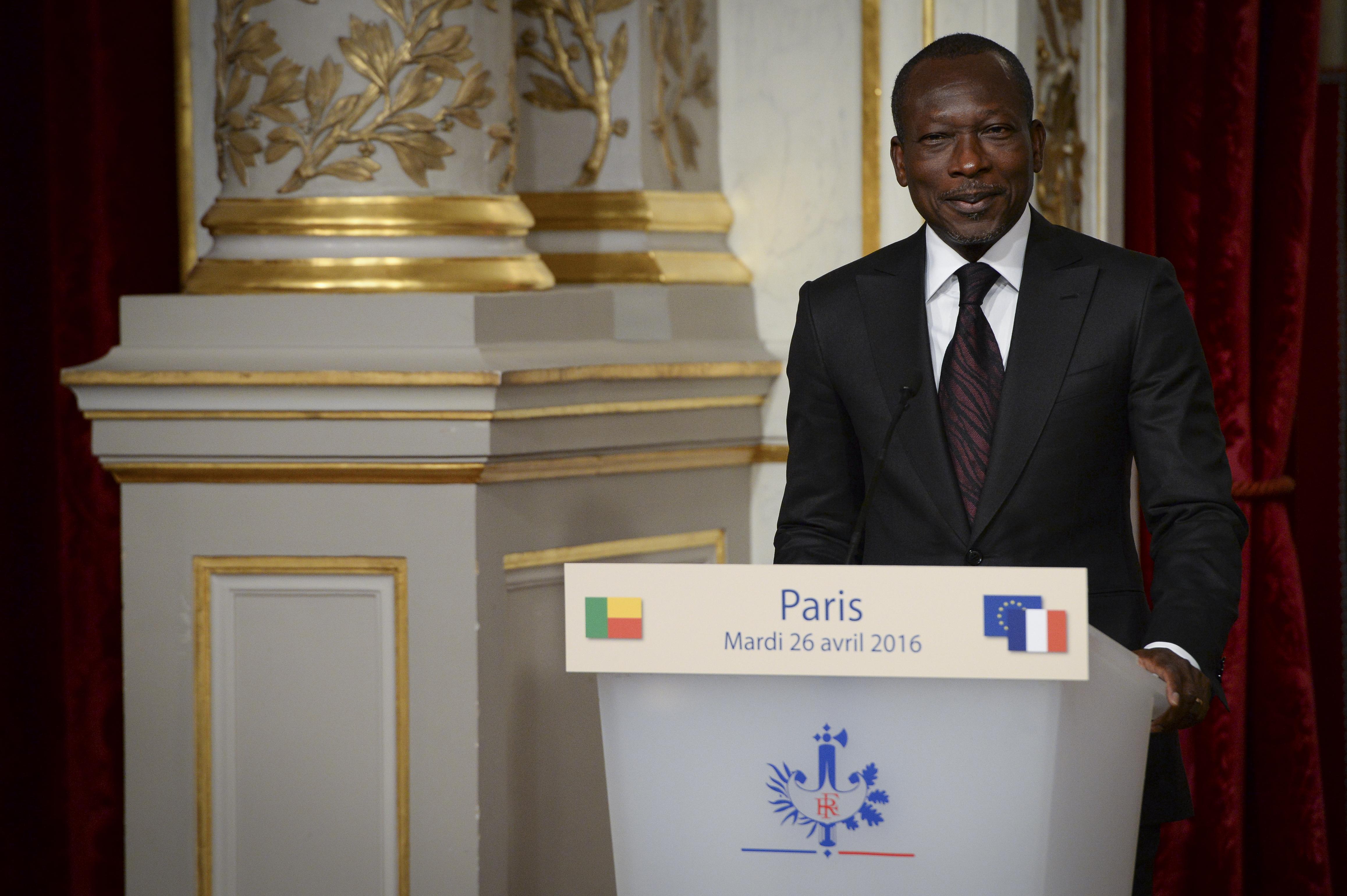 President Talon of Benin