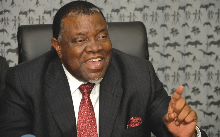 Namibia president wins re-election