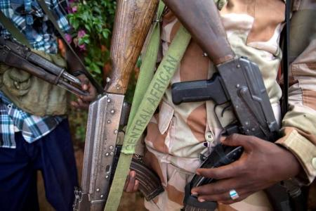 At least 22 dead in clashes over Central African Republic town