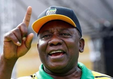South Africa's Deputy President Cyril Ramaphosa. Photo: REUTERS/Mike Hutchings