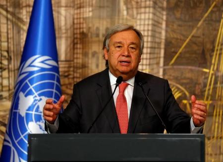 U.N. Secretary-General Antonio Guterres. Photo: REUTERS/Murad Sezer
