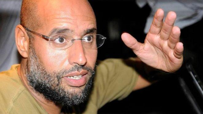 Saif al-Islam Gaddafi was seen as Col Gaddafi's successor. Photo: Reuters