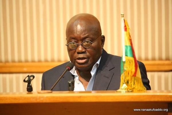 Ghana's President, Nana Akuffo-Addo