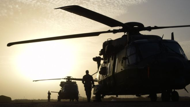 French troops killed in helicopter crash