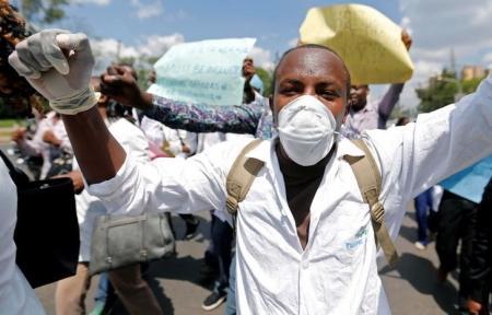 Kenyan nurses on strike over pay dispute