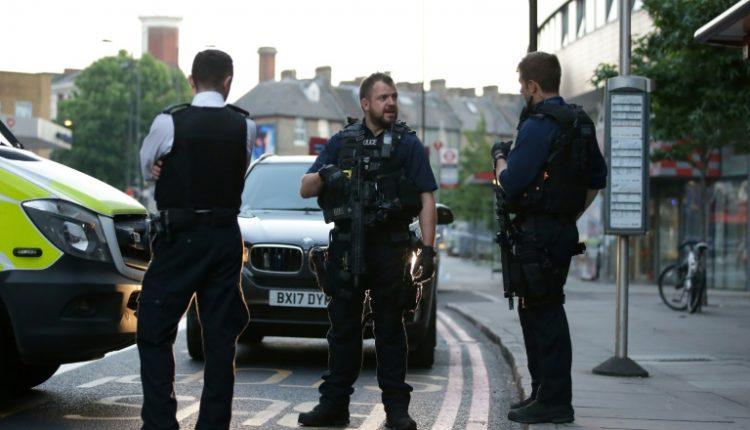 One dead as van rams pedestrians near London mosque