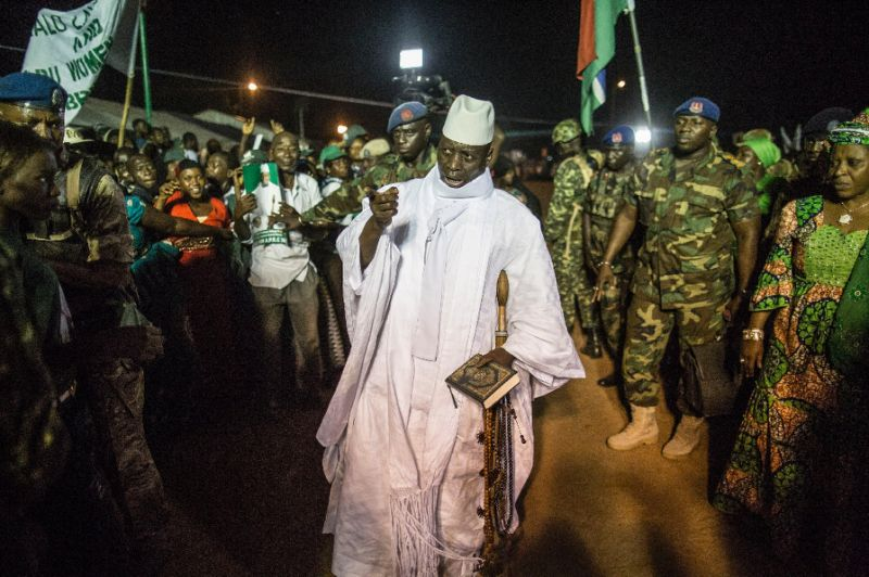 Yahya Jammeh ruled Gambia for decades and was forced into exile after losing the presidential elections won by President Adama Barrow.