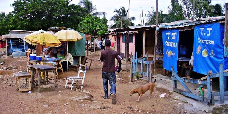 Liberian refugee camp in Ghana