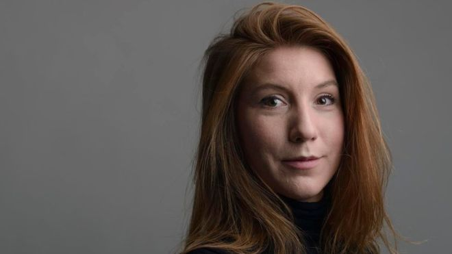 Kim Wall was researching a feature about submarines before she disappeared. Photo: Tom Wall