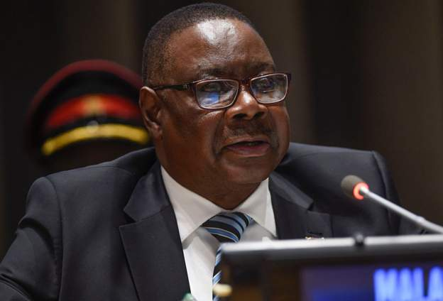 Malawi's President Peter Mutharika. Photo: GETTY