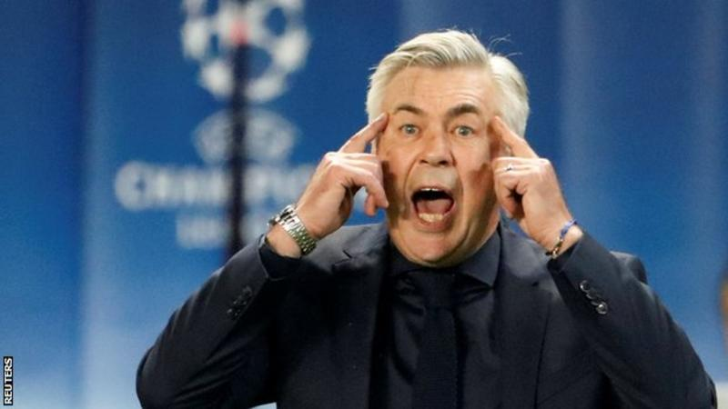 Ancelotti has won league titles in four countries, and is the joint most successful manager in European Cup history