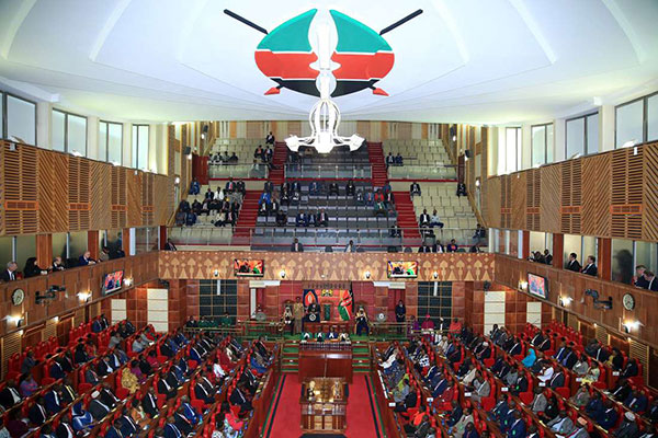 Fart in Kenya parliament house
