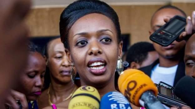 Diane Rwigara is daughter of defunct business mogul Assinapol Rwigara Photo: Reuters