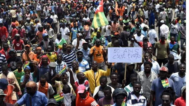 Thousands have taken to the streets in recent weeks demanding constitutional changes. Photo: AFP