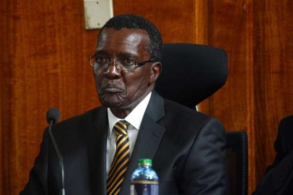 Chief Justice of Kenya, David Maraga. PHOTO | EVANS HABIL | NATION MEDIA GROUP