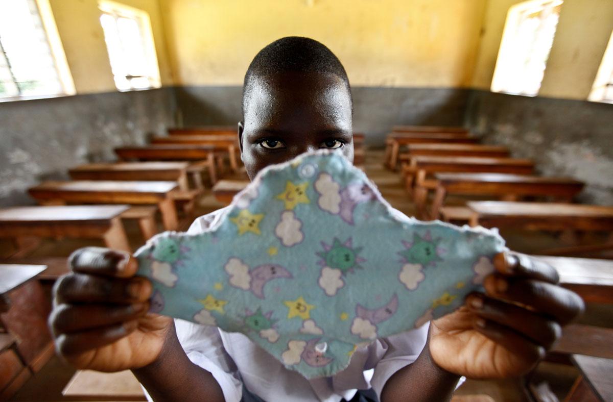 Girls exchange sex for sanitary pad