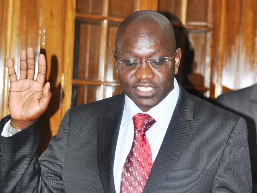 Ekuru Aukot, who polled less than 1 percent in presidential elections in August