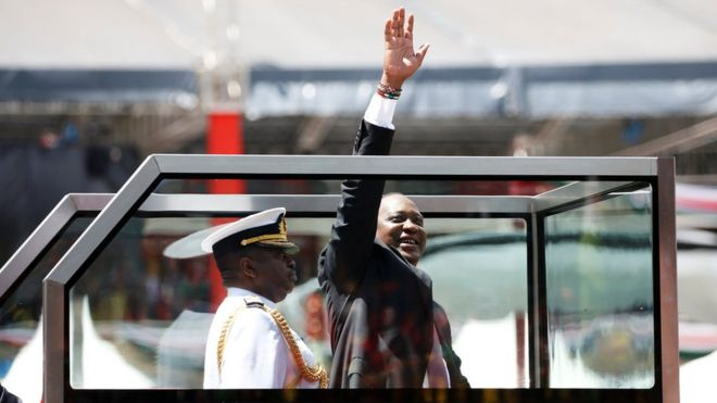 Mr Kenyatta is serving his second term as president. Photo: Reuters