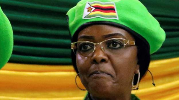 Grace Mugabe is the wife of former Zimbabwean president. Photo: Getty