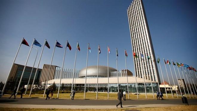 The African Union Headquarters is located in Addis Ababa, Ethiopia.