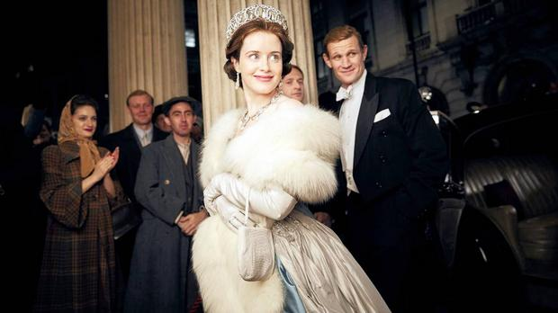 Netflix paid Claire Foy less than co-star Matt Smith for The Crown. She played Queen Elizabeth II, the lead role, while he played her husband, Philip Mountbatten. Picture: Robert Viglasky, Netflix