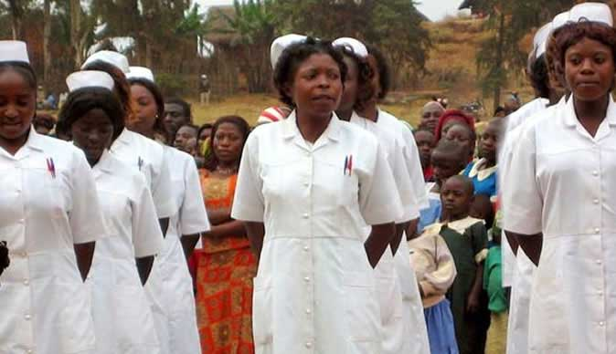 Zimbabwe nurses on strike