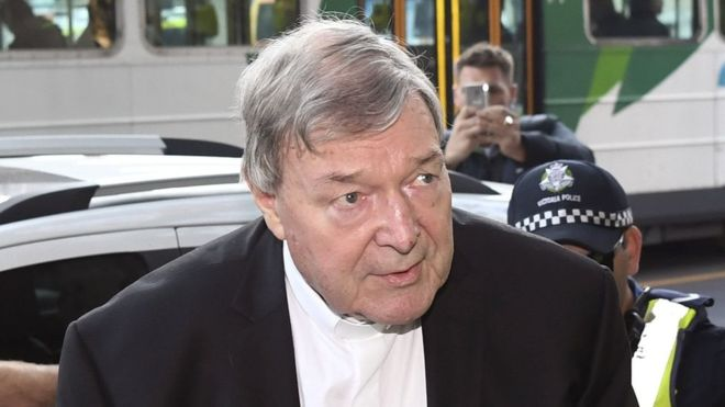 Cardinal George Pell has pleaded not guilty to charges of sexual assault. Photo: Getty
