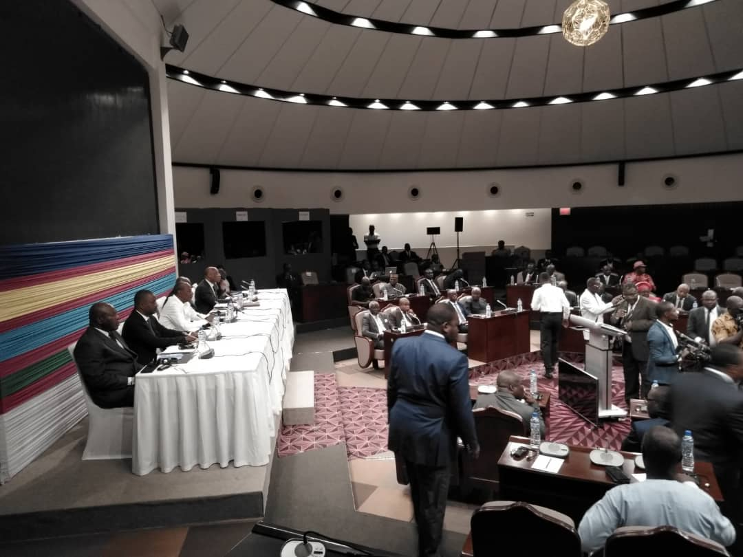 The mediation talks are taking place in Lome, aided by ECOWAS. Photo: Africa Feeds