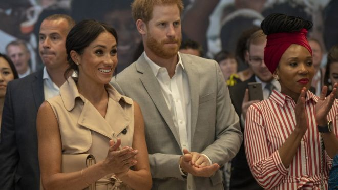 The Duke and Duchess of Sussex were said to be 'absolutely thrilled' to have been invited to attend the exhibition's launch. Photo: Getty Images