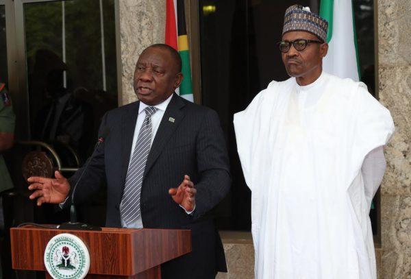 Buhari and Ramaphosa