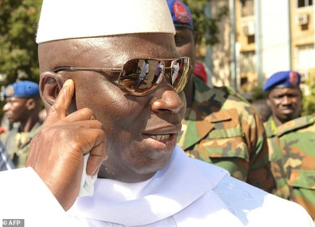 Yahya Jammeh sexual abuse