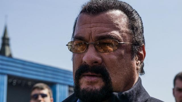 Steven Seagal Appointed Russian Special Envoy to Improve U.S. Relations