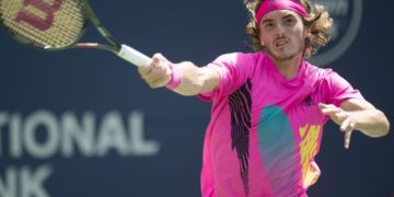 Stefanos Tsitsipas. Photo: AP