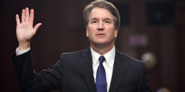 Brett Kavanaugh denies the allegations. Photo: AFP/ GETTY