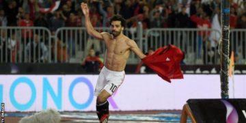 Mohamed Salah has scored 10 goals in his past eight games for Egypt
